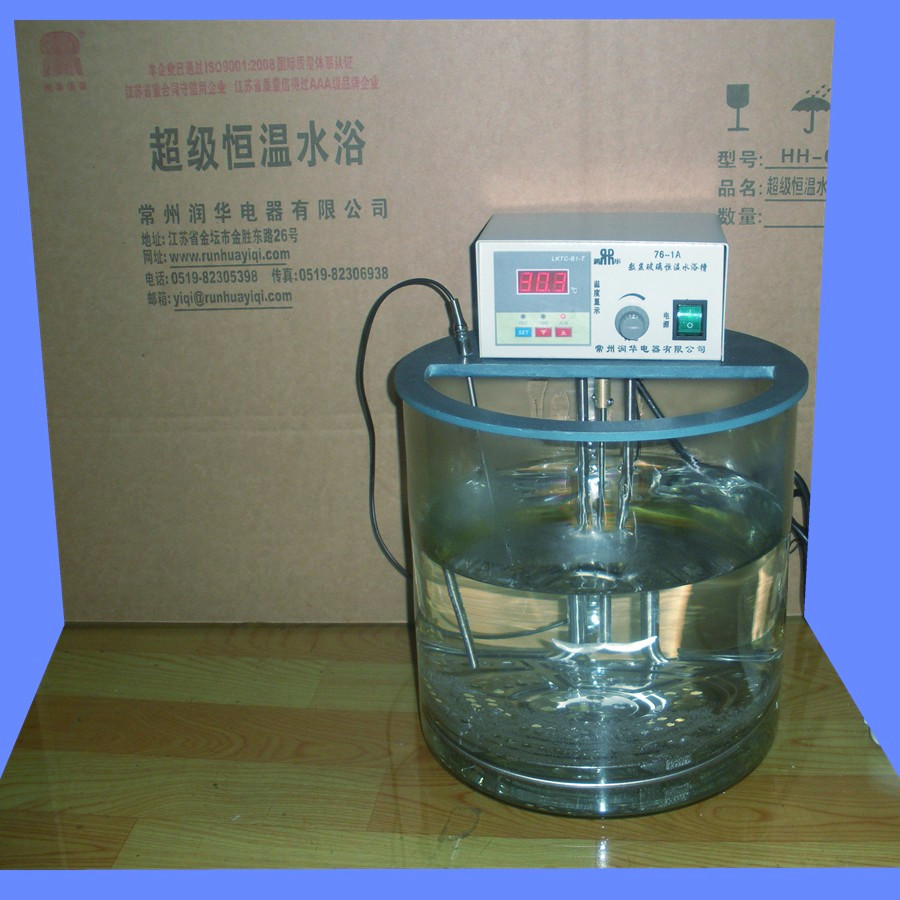 76-1a constant temperature water bath transparent stirring water bath